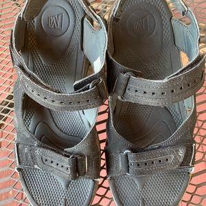 $CHEAP Merrell men's strap sandals size 13 Black